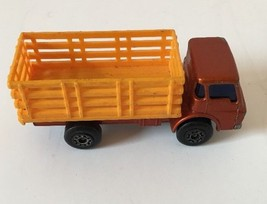 Matchbox Number 71 Cattle Truck w/ Cattle (1978) Toy Car Vintage - $9.89