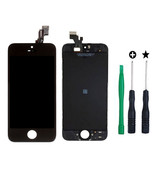 Replacement LCD Touch Screen Digitizer Assembly for iPhone 5 SE 5SE Black - $30.08