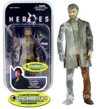 "Mezco Heroes Series 2 Phasing CLAUDE 7"" Action Figure Pigeon Wallet Staf... - $19.79"