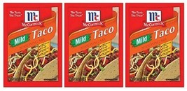McCormick Mild Taco Seasoning Mix 3 Packet Pack - $9.55