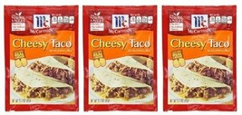 McCormick Cheesy Taco Seasoning Mix 3 Packet Pack - $9.55