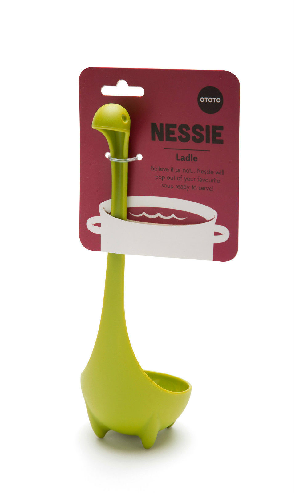 NESSIE Ladle Funky Original Design Gifts Bar Cup Tools Cookware Gadgets Bar