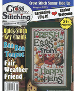 Cross Country Stitching August 2013 magazine issue Jeremiah Junction - $6.00