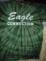Eagle Connection Size Small Green T Shirt  Gildan - $10.00