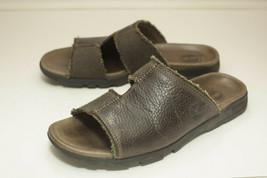 Timberland 9 M Brown Slide Sandals Men's - $32.00