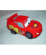 Beanbag Plush  From Disney Cars 2 Soft Pals Lighting McQueen - $27.00