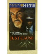 Warner Bros. Just Cause VHS Movie  * Plastic * - $4.34