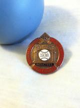 Baseball Hall of Fame Press Pin 1938 Inductees Baseball Pin Grover Alexander Hen - $89.00