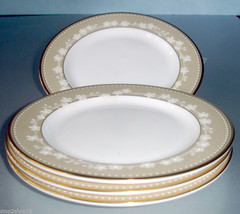 "Lenox Bellina Gold (SET/4) Bread & Butter or Tidbit Party Plates 6.25"" New - $45.90"