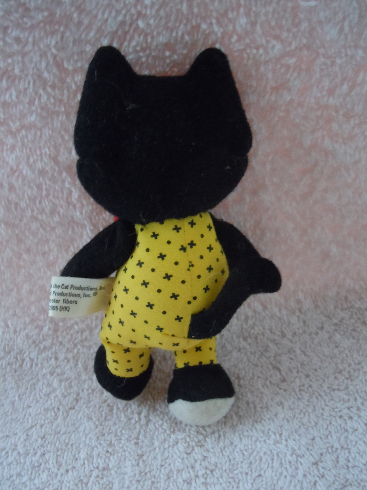 Vintage Felix the Cat Stuffed Animal Toy Pattern