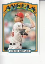 Jered Weaver 2013 Topps Series 1 Mini Insert Card #TM-3 - $0.99