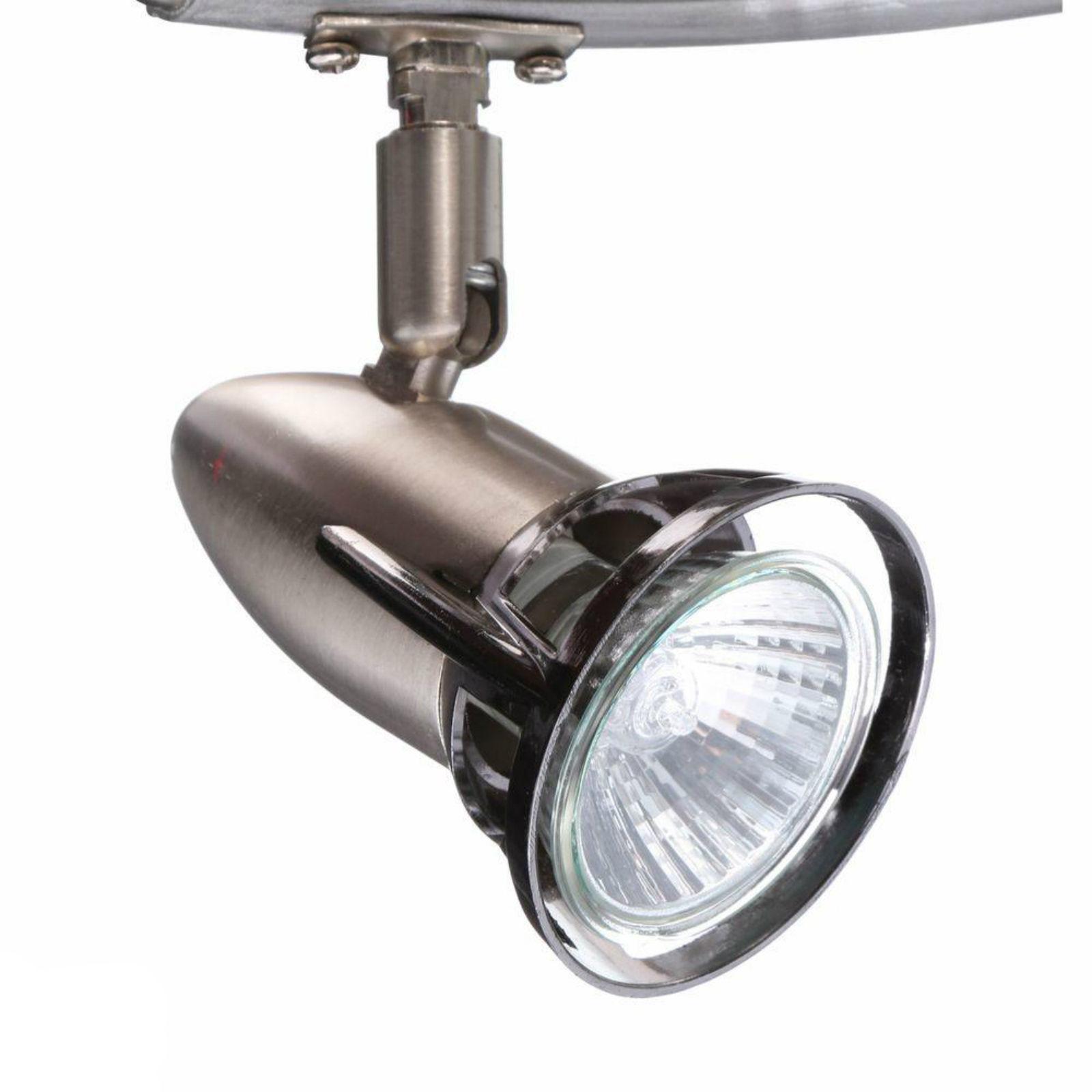 Ceiling Fan Light Kit Flush Mount Brushed Nickel