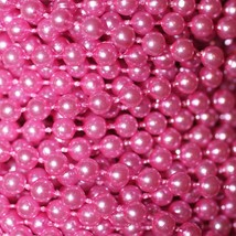 Orchid Pink Pearl Beads 2.5mm Molded on Thread Fused to string 120 inches (10') - $7.97