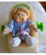 Vintage 1978, 1982 Cabbage Patch Kids Signed Doll & Carrier  - $123.75