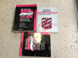 1995 1996 Toyota Supra Service Repair Shop Manual OEM Set w EWD & Supplement - $217.55