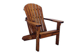 Quality Outdoor Patio Adirondack Chair - Real Wood - Made in USA! - $490.05