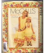 McCall's 2102 Mommy & Me Misses & Girls Dress, ... - $6.00