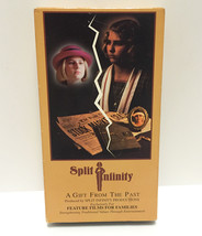 SPLIT INFINITY A Gift From The Past Feature Films For Families • 1992 VH... - $8.42