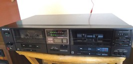 Sony TC-W5 Dual Cassette Deck , Japanese, See Video ! - $51.08