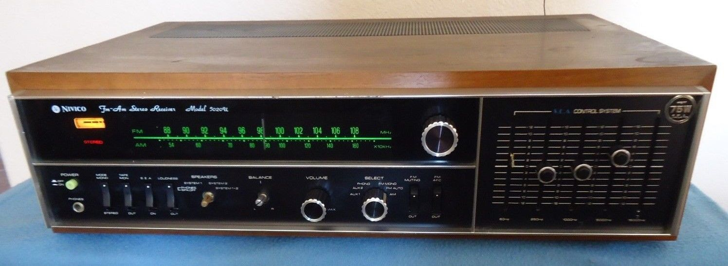 Primary image for JVC Nivico 5020U Stereo Receiver, Japanese, see Video!