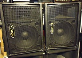 "Kustom KPC15M, Speakers / Monitor ""Pair"", See Video !! - $228.73"