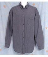 New Sz XL Unionbay Mens Small Blue Checks Cotton Casual LS Shirt Button ... - $9.99