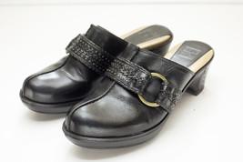 Frye 7.5 Black Mules Women's Shoes - $86.00
