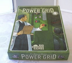 Power Grid Game For Energy Mogul Wannabes Complete VGC  - $37.00