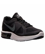 NIKE AIR MAX SEQUENT LOW SNEAKERS WOMEN 11 / MEN 9.5 SHOES BLACK 719916-... - $108.89