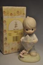 Precious Moments - High Hopes - 521957 - Boy with Kite - $18.80