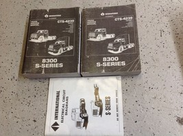 International Truck CTS-4239 Service Repair Shop Manual Set 8300 Series OEM - $197.99