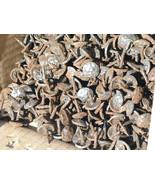 100 Steel Hammered Clavos Decorative Nails Door Furniture Craft 5/8 inch bz - $109.99