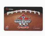 CFL Grey Cup 100 2012 Tim Hortons Gift Card $0 Value FD31394