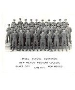 AIR FORCE 3463rd School Squadron 1951 Silver Springs New Mexico - $48.51