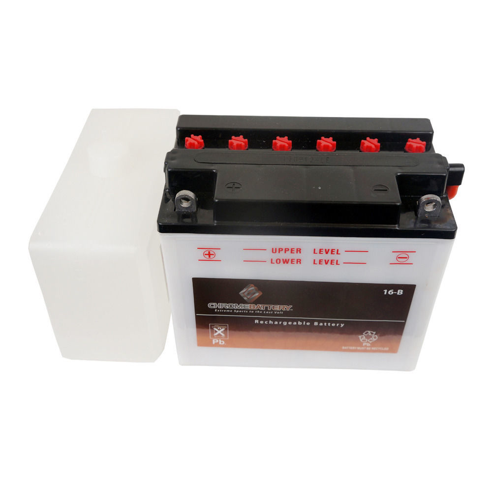 YB16-B Convential Motorcycle Battery for 1988 Harley-Davidson Dyna Low Glide - $52.04