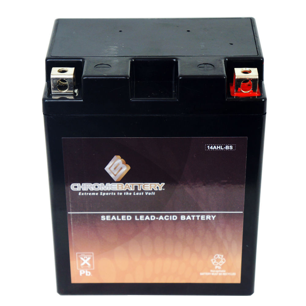 YTX14AHL-BS Motorcycle Battery for CAN-AM T4E, Elefant, W12 500CC 87