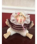 "Sweet Lulu Lamb Figurine Russ Berrie Kathleen Kelly Critter Factory 6"" - $19.79"
