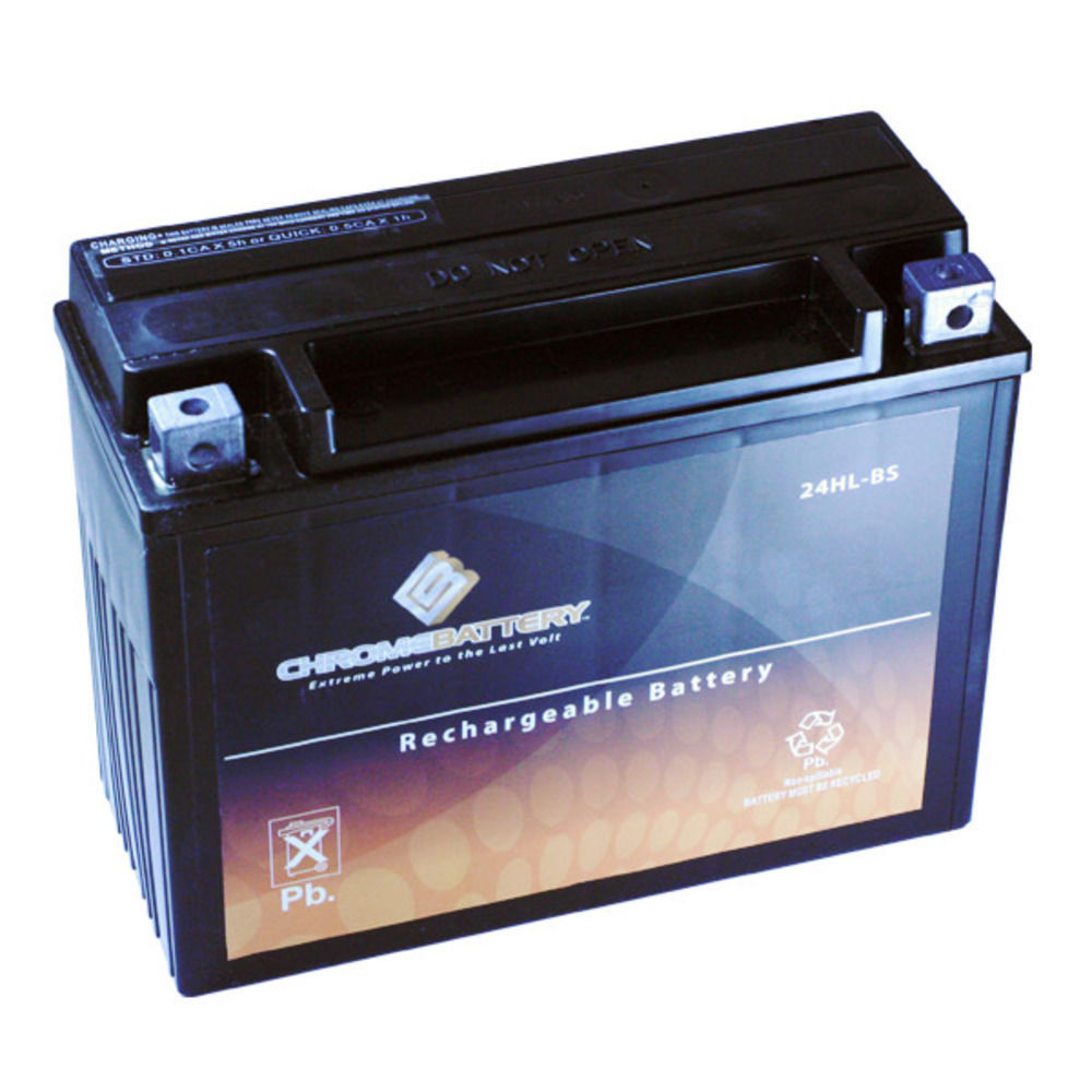 YTX24HL-BS Snowmobile Battery for YAMAHA VX600DX Vmax 600 Deluxe CC 99-'01