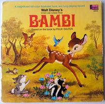 Story And Songs From Bambi LP Vinyl Record Album, Disneyland, 1969 - $16.95