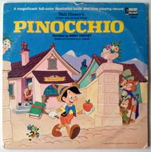 Walt Disney's Story And Songs from Pinocchio LP Vinyl Record Album, Disn... - $28.95