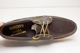 10 Nomads Narrow Wright Shoes 5 Mens Boat Brown 44w51q