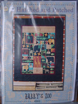 """Hatched & Patched """"Harry's Zoo"""" Quilt Pattern 38"""" x 49.5"""" Finished Size - $7.00"""