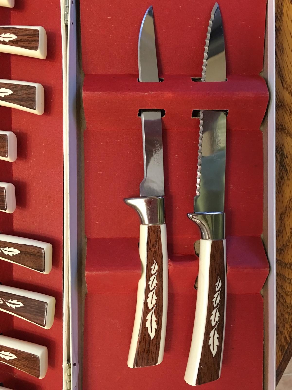 sheffield kitchen knives richardson sheffield kyu piece