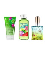 3 Piece Bath & Body Works Beautiful Day Set Scrub Wash Perfume and Showe... - $33.99