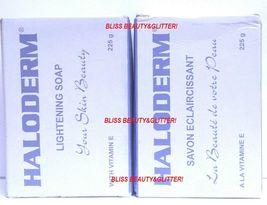 Haloderm 2 LOT! Body Lightening Soap 225g Each!... - $12.99