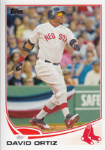 David Ortiz 2013 Topps Series 2 Card #595 - $0.99