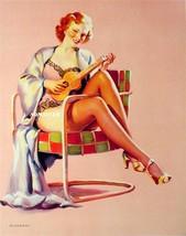 """Gil Elvgren Pin-up Girl Print 10"""" X 12""""  Sexy Legs! - $5.94"""