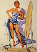 Joyce Ballantyne Sexy Pin-up Poster! Hot Seamstress Making Dress  Awesome Photo! - $6.89
