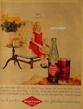 1959 vintage RC Ad Royal Crown Cola Vintage Soda-Pop Advertisement!!! - $4.99
