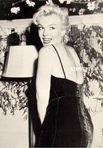 Marilyn Monroe Pinup Poster Shakin Booty in Black Dress - $4.99